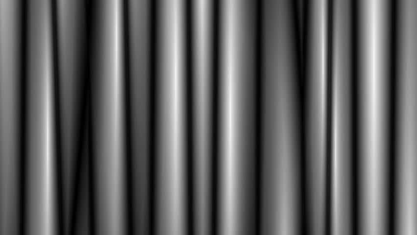 Abstract CGI motion graphics and animated background with blurred black and white lines