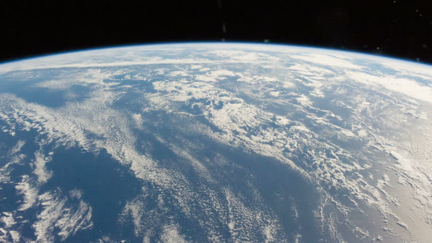 Awe-Inspiring Space Flight 3D Animation Over Planet Earth