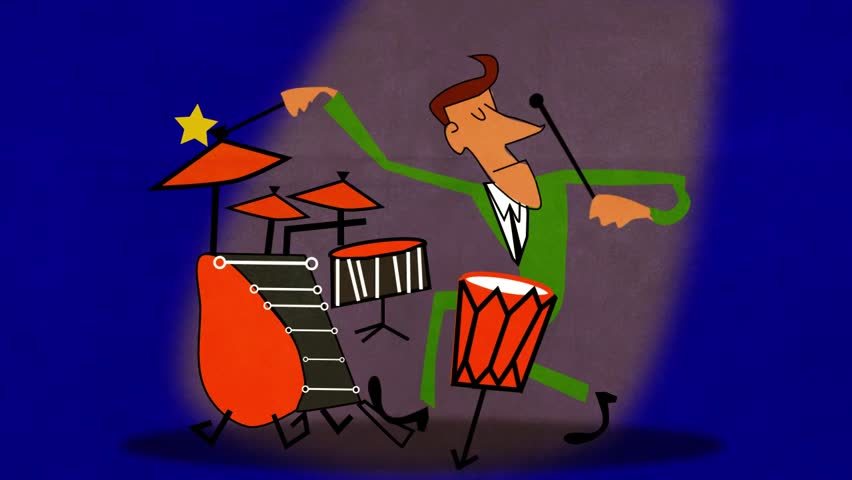 Jazz Drummer Loop Stock Footage Video (100% Royalty-free) 27426067 |  Shutterstock
