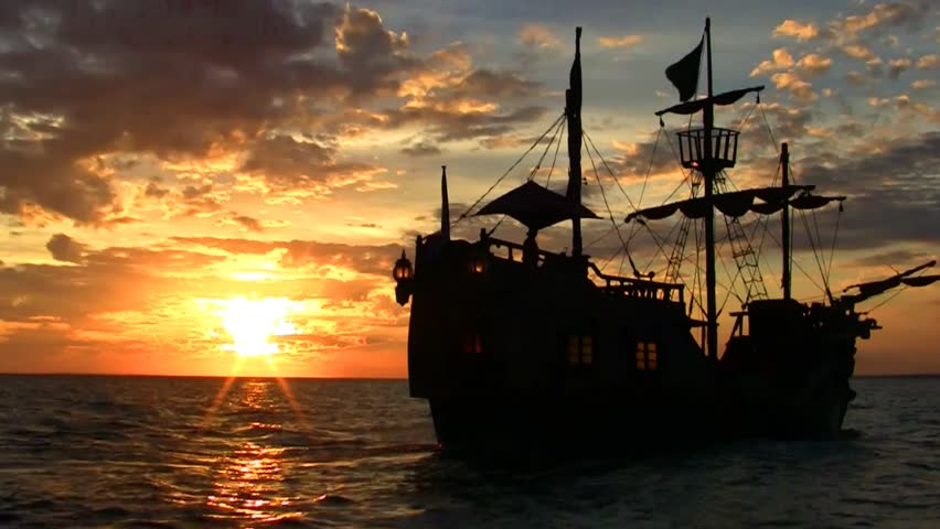 Pirate ship Full HD