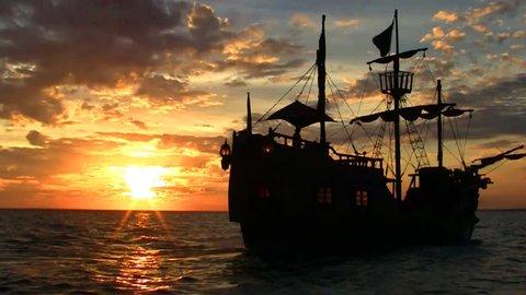 Pirate ship Full HD