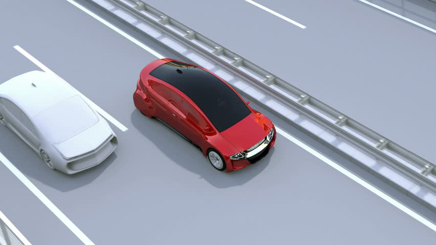 Side View Assist System Avoid Car Accident When Changing Lane ...