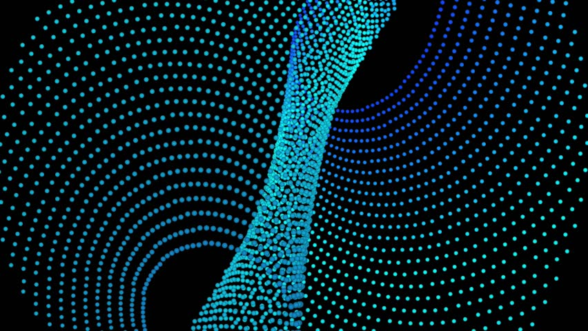 Abstract CGI Motion Graphics And Animated Backgrounds With