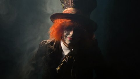 Hatter in the smoke