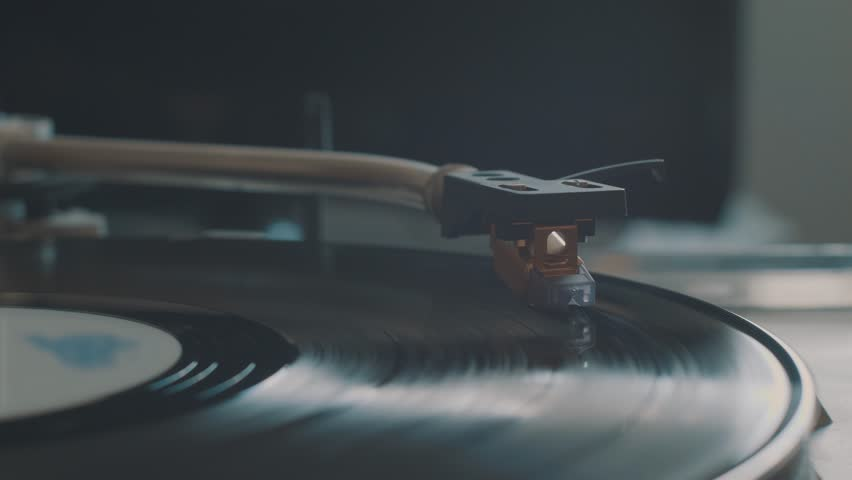 Cinemagraph Loop Vinyl Turntable Record Player | Shutterstock HD Video #27656707