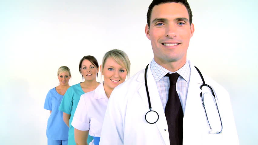 Medical & healthcare team ready to treat patients | Shutterstock HD Video #277387