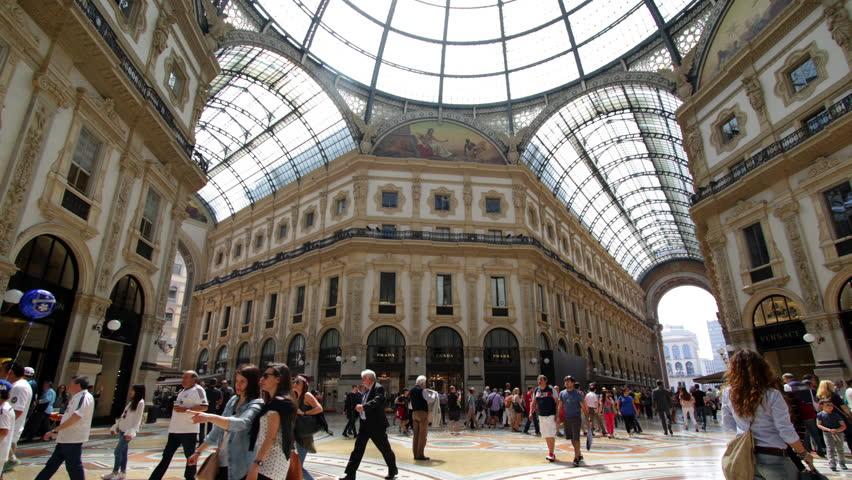 Galleria Vittorio Emanuele II Timelapse