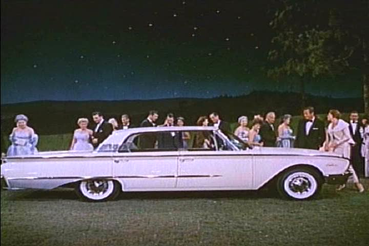 1960s: A new Ford Thunderbird and Ford Falcon are shown (and sung about) in 1960.