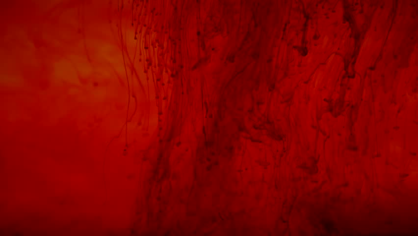 Red ink drop in water. Background, abstract art | Shutterstock HD Video #27974257