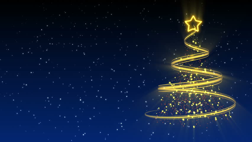 Christmas Tree Background - Merry Christmas 25 (HD) | Shutterstock HD Video #2811982
