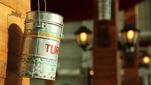 Milk cans at Rural Home