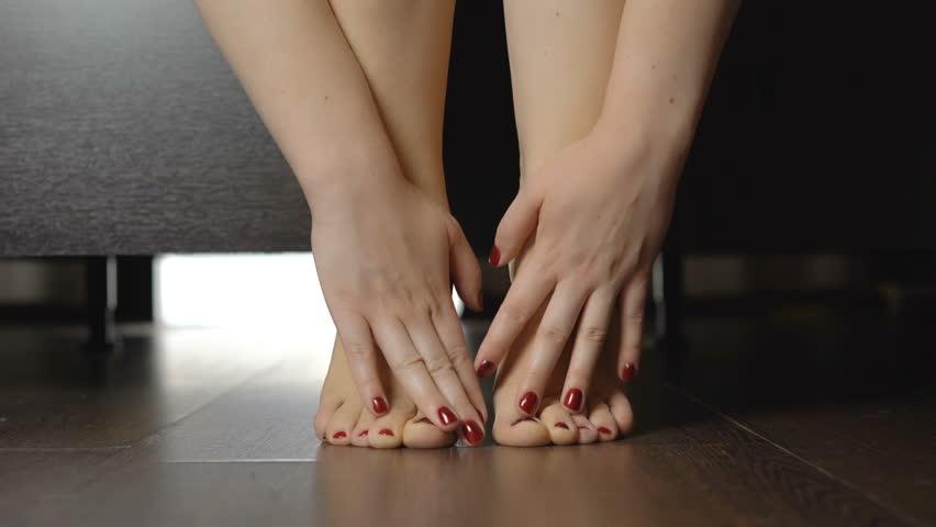 Female Legs In High Heels Stock Photo 112955185 : Shutterstock