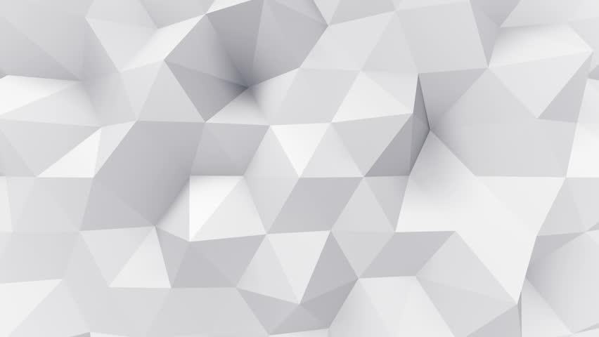 Geometric Triangle Wall waving background. | Shutterstock HD Video #28361011