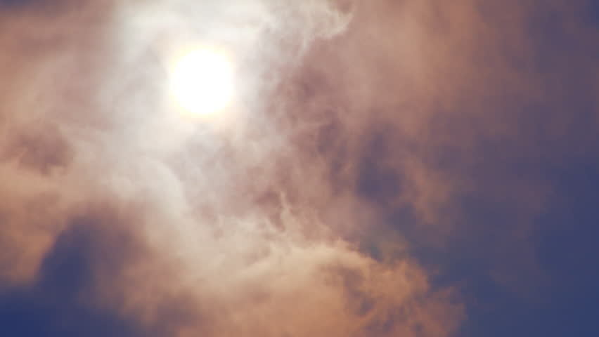 Clouds, Time Lapse, Timelapse, Sun through Clouds