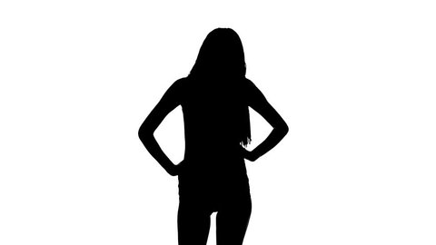 Sexy Dancing Silhouette Stock Footage Video (100% Royalty-free ... f7672eda0