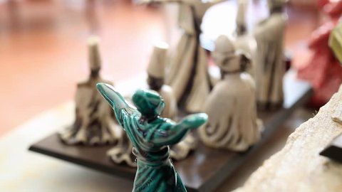 Dancing dervish miniature