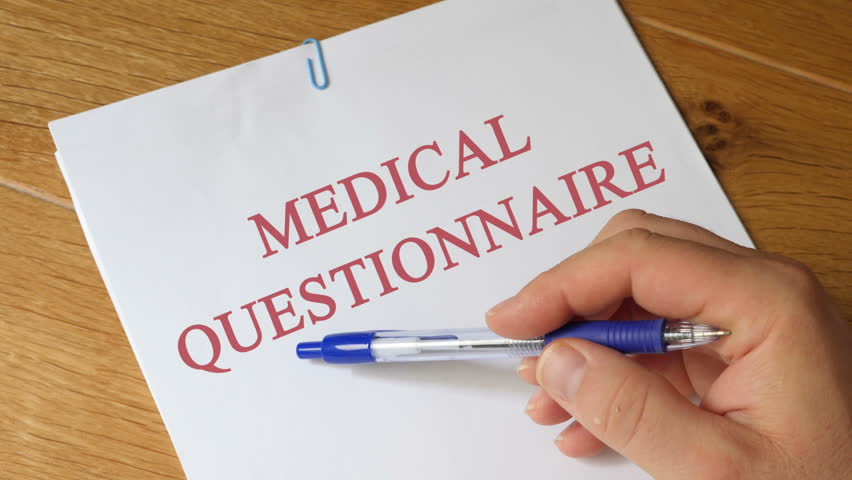 Header of questionnaire