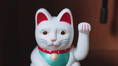 Japanese, Maneki neko, beckoning, cat