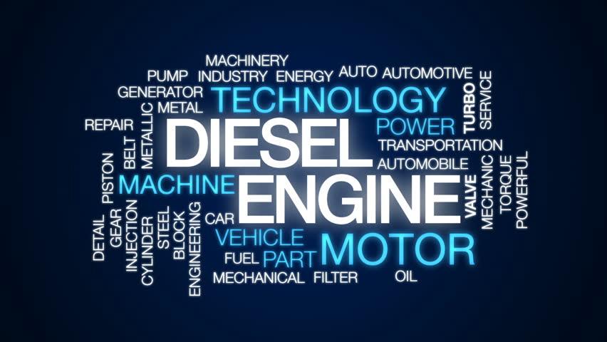 Diesel Engine Animated Word Cloud, Stock Footage Video (100% Royalty-free)  28746337 | Shutterstock