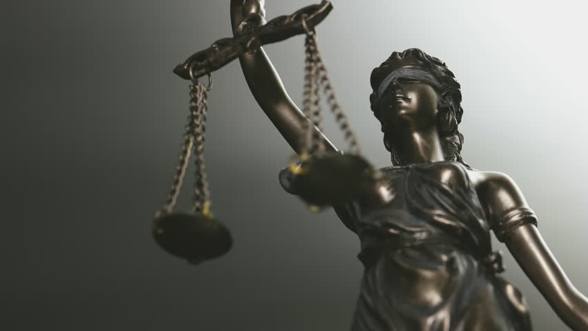 The Statue of Justice - law concept video | Shutterstock HD Video #28780717