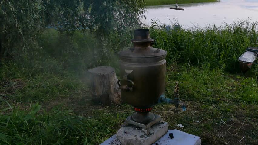 Header of samovar