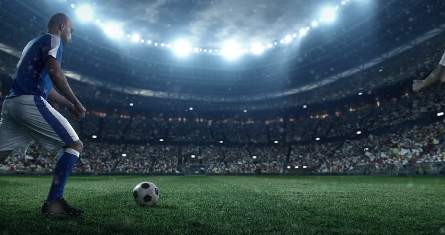 Football Stadium Balls Background 1080p Football Stadium