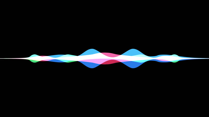 Colorful waveform, imagination of voice record, artificial intelligence | Shutterstock HD Video #29030944