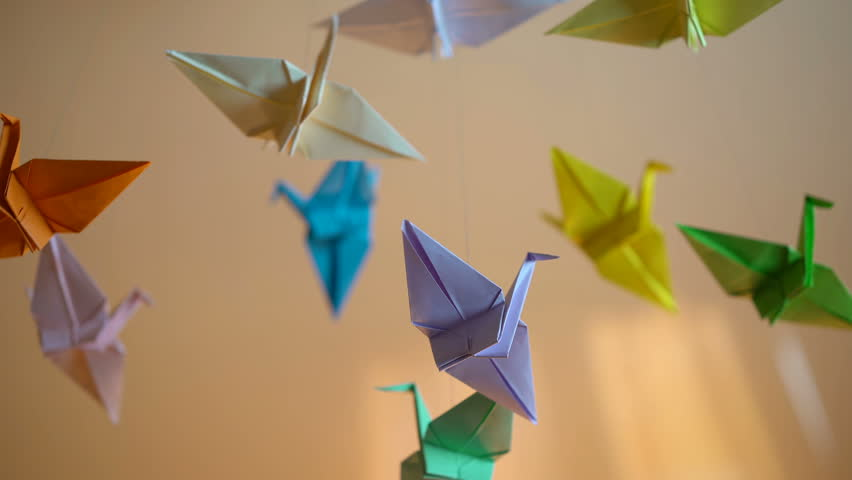 Origami Crafts Royalty Free Stock Video In 4k And Hd Shutterstock