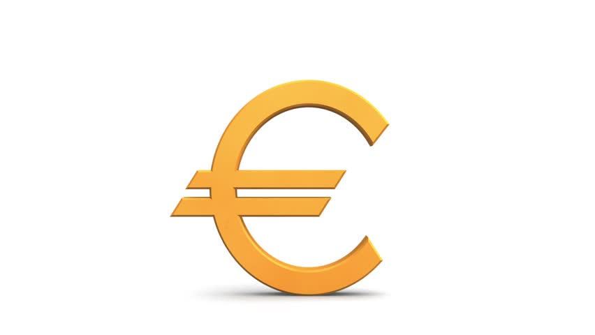 Broken Euro Symbol Stock Footage Video 100 Royalty Free 2915713