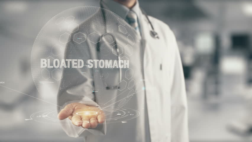 Header of bloated
