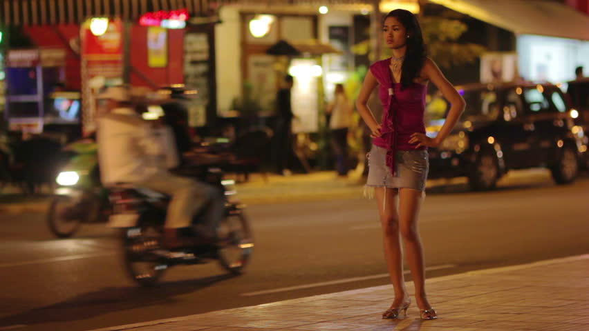 Prostitute Waiting For Costumer On Stock Footage Video 100 Royalty-Free 2931487 -1748