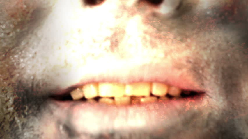 Horror Mouth Zombie Scary