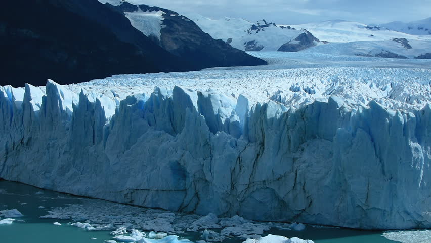 Panoramic View from catwalks of Perito Moreno Glacier