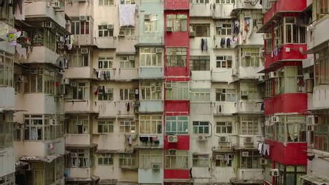 Hong Kong by drone.