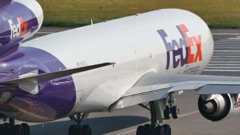 FEDERAL EXPRESS FEDEX MCDONNELL DOUGLAS MD-11 N610FE at NARITA AIRPORT JAPAN - June 3, 2016