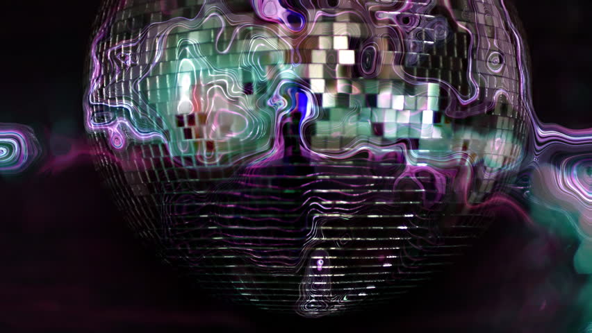 A funky discoball spinning. perfect clip for club visuals or party/celebration | Shutterstock HD Video #2985760