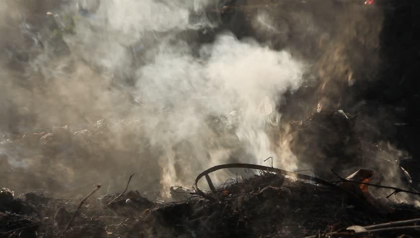 Smoke coming from Burning dump