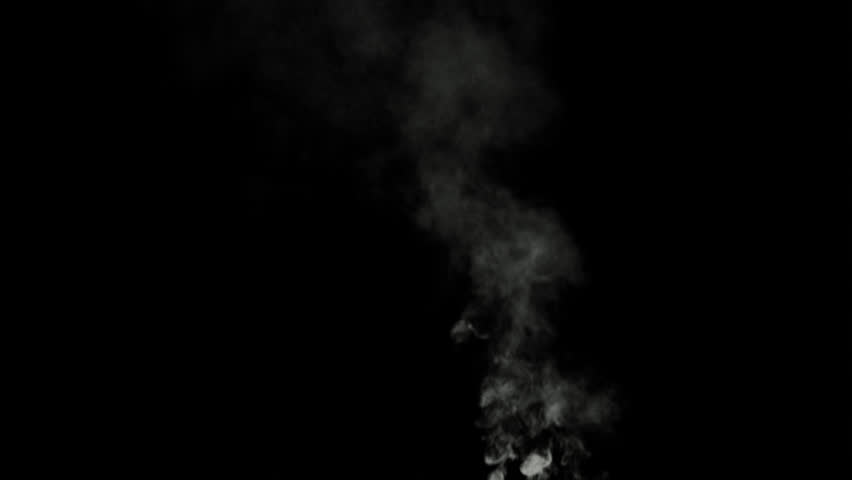 Beautiful smoke on a black background. Footage for overlay on video editing. #30052087