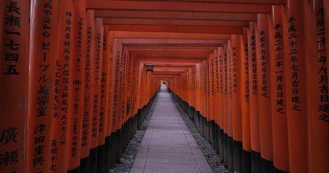 Japanese Shrine (Torii Gates)