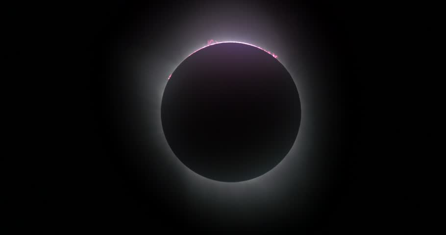 Great American Eclipse.  Total Solar Eclipse.  Corona during totality.  Shot with GH4. | Shutterstock HD Video #30178177