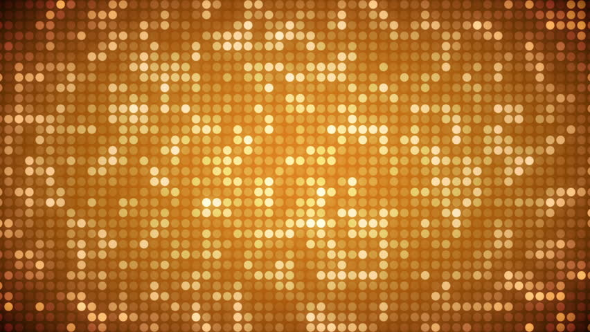 Animation of gold dots