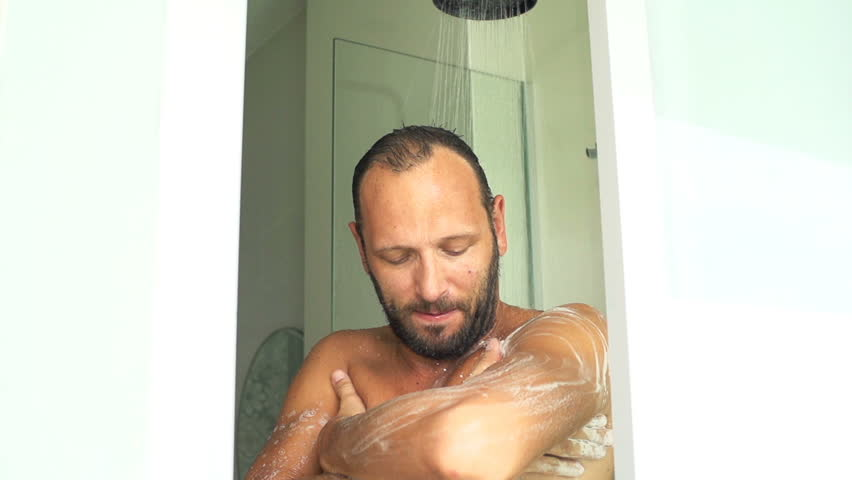 He got in the shower and shaved my beard love