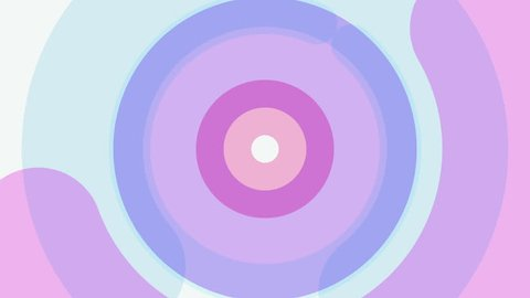 motion design animation circle shape background