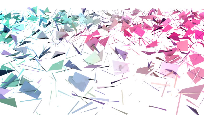 Abstract simple blue pink low poly 3D split surface as background. Soft geometric low poly motion background of shifting pure blue pink polygons. 4K Fullhd seamless loop background | Shutterstock HD Video #30463903