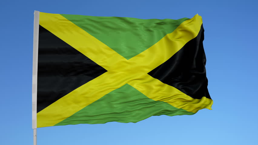 jamaican flag pole - photo #36
