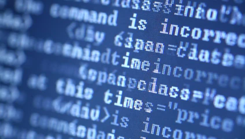 HTML codes    Shutterstock HD Video #3052882