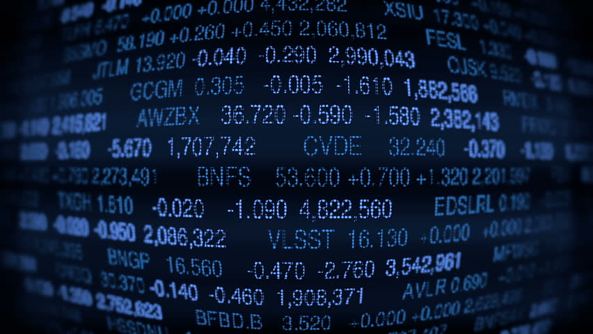 Stock Market Board (Loop ready)  | Shutterstock HD Video #3054367