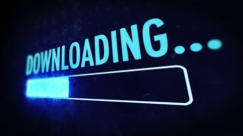 Download bar: file being downloaded