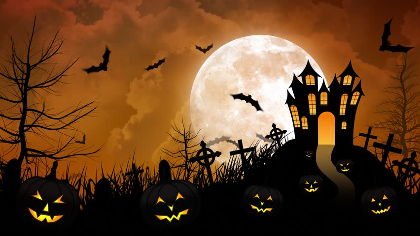 Scary halloween motion graphics footage stock footage - Scary animated backgrounds ...