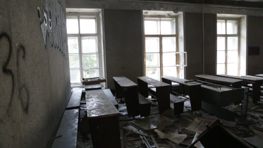 Ruined classroom | Shutterstock HD Video #30611167
